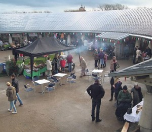 Worth a visit: The Oriel y Parc Christmas Market.