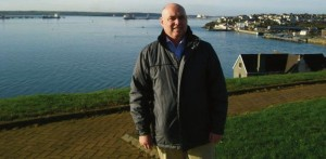 Paul Davies: on the waterway.