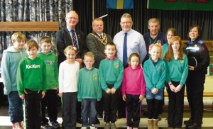 Celebrations: Golden Grove School's Going Local Project grant success last year.