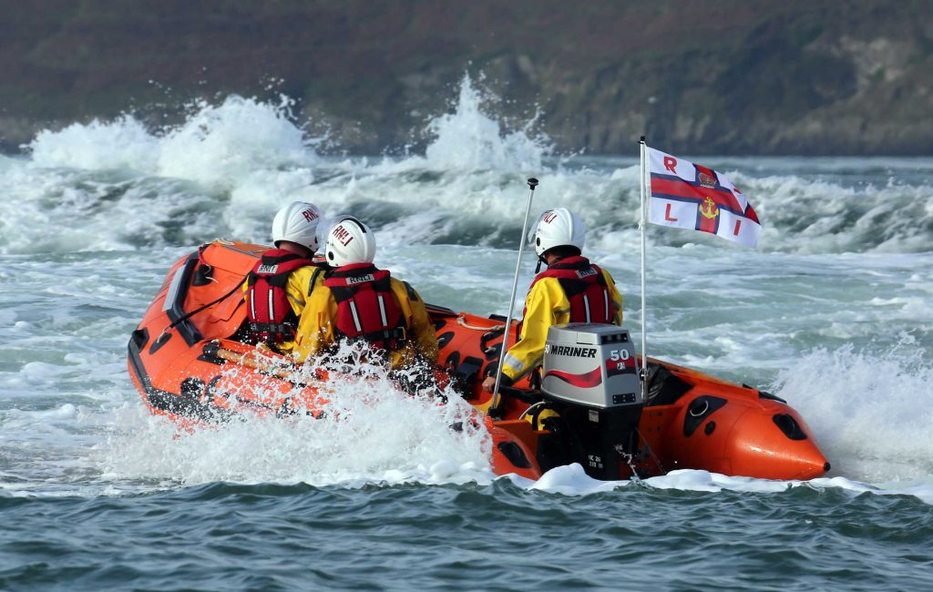 Drifting inflatable dinghy triggers Fishguard RNLI lifeboat launch – The Pembrokeshire Herald