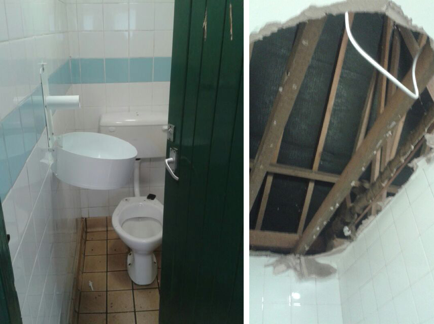More Public Toilets Targeted By Vandals The
