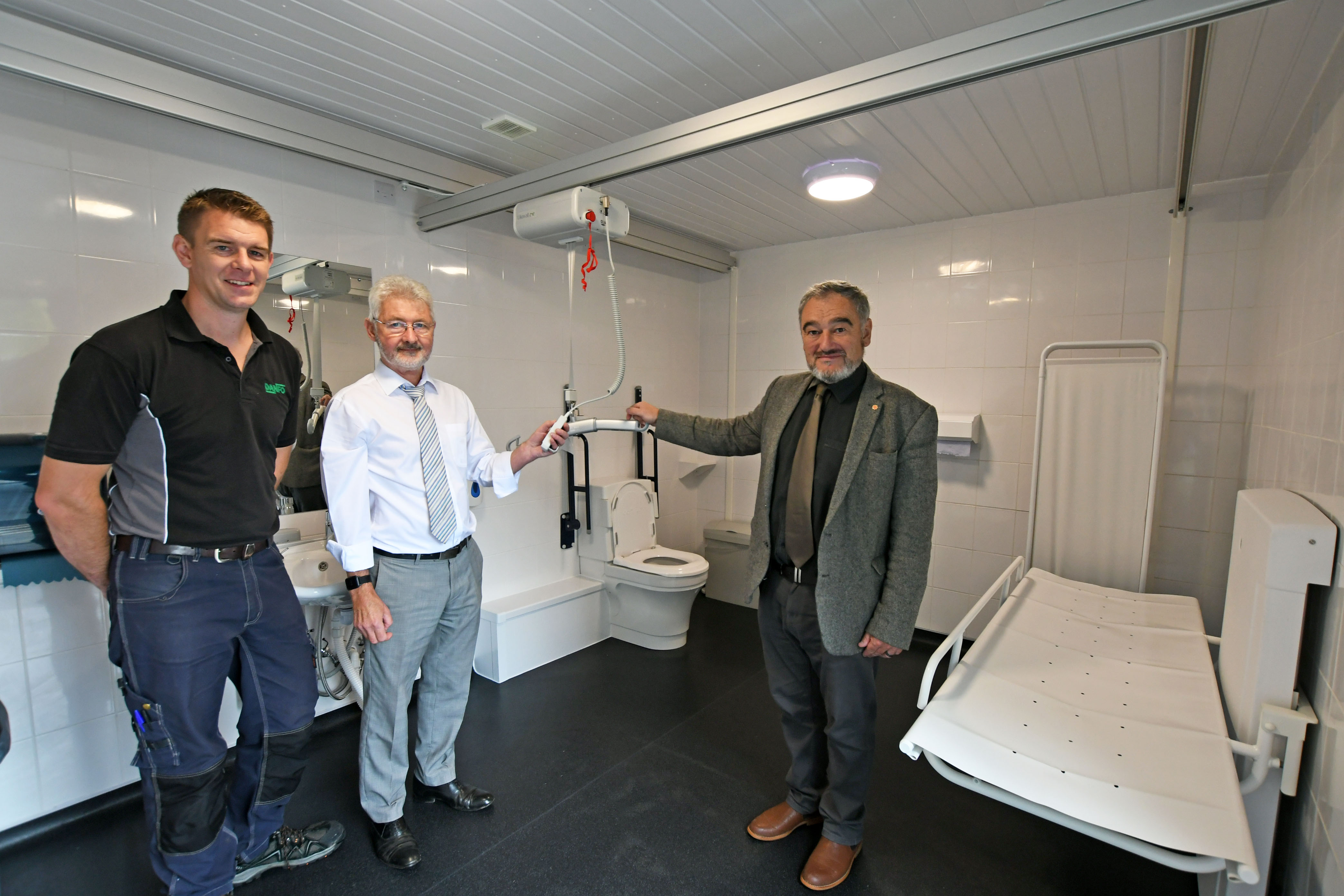 Tenby: \'State of the art\' toilets opened – The Pembrokeshire Herald