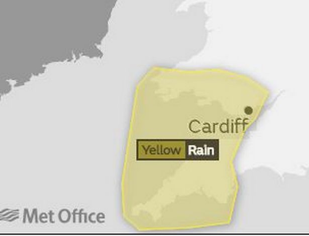 Met Office issue yellow weather warning for Friday morning – The Pembrokeshire Herald