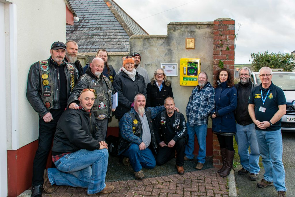 Milford Haven: Defibrillator donated to town – The Pembrokeshire Herald