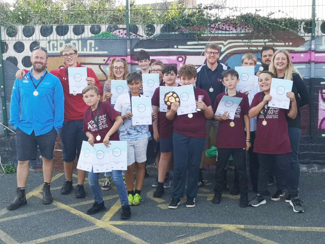 Youth centre conquers coast path challenge to get the Point Across – The Pembrokeshire Herald