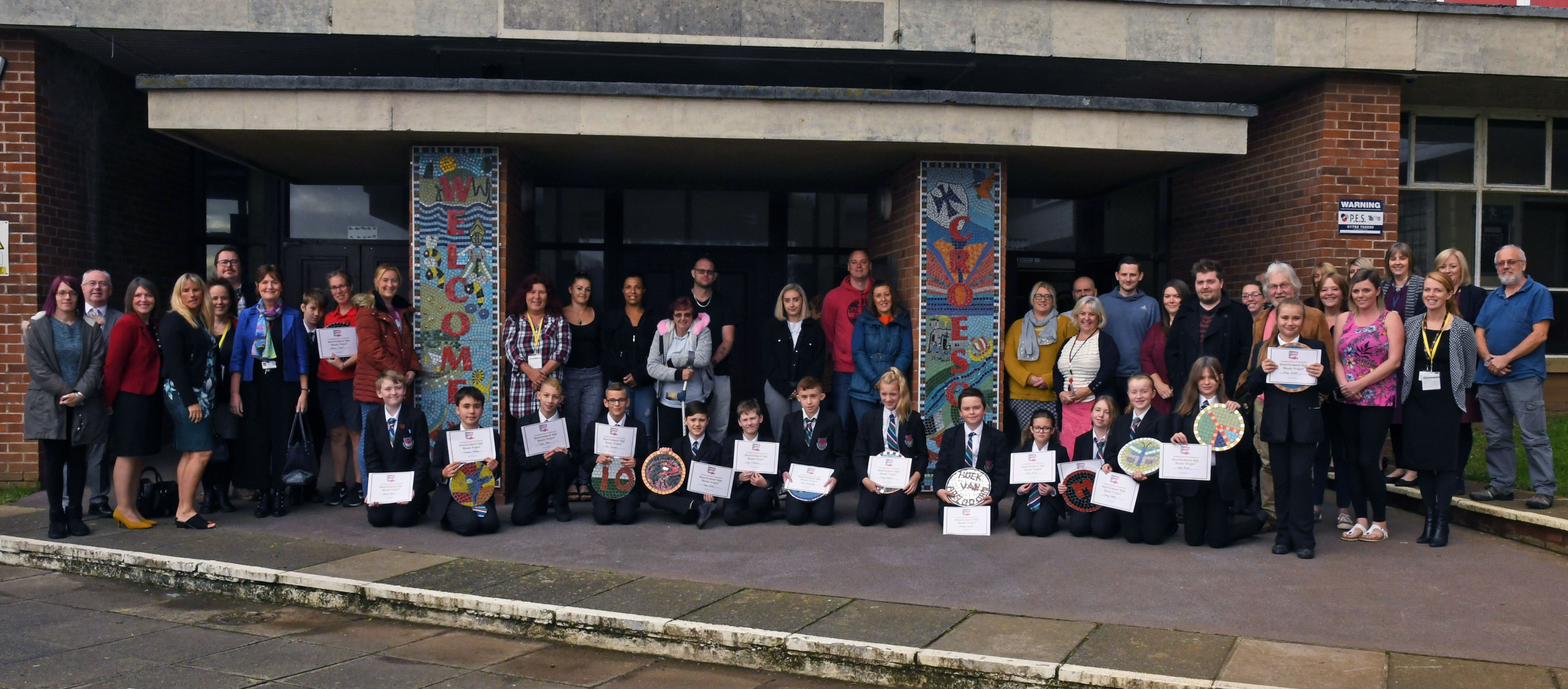 New mosaic for Pembrokeshire School – The Pembrokeshire Herald
